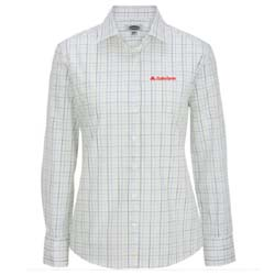 Ladies Tattersall Dress shirt Thumbnail
