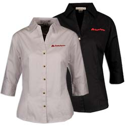 Ladies 3/4 Sleeve Shirt Thumbnail