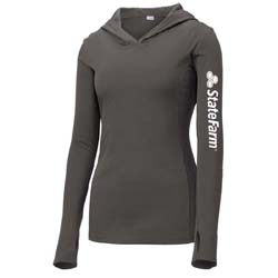 Women's Performance Hooded Pullover T-Shirt Thumbnail